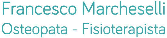 Osteopata Firenze Francesco Marcheselli